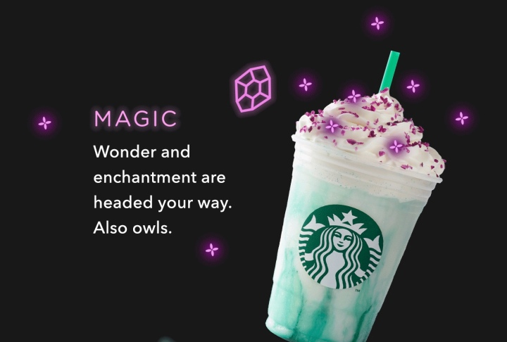 Starbucks Crystal Ball Frappuccino Available Tomorrow [PIC]