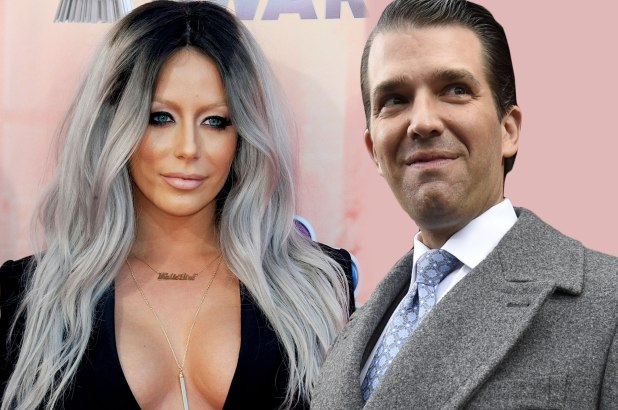 Aubrey O'Day Had An Affair With Donald Trump Jr? [AUDIO]